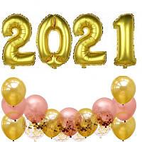 Набор шаров на Новый Год 059