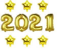 Набор шаров на Новый Год 058