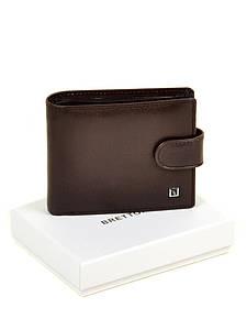 Коричневый кожаный мужской кошелек портмоне Bretton MS-25 coffee