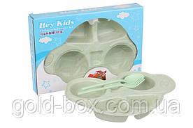 Детская многоразовая посуда набор