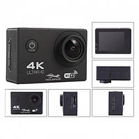 Экшн Камера F60R - Full Hd 4K Wi-Fi С Пультом Ду Black, фото 1