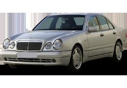 Дефлекторы на боковые стекла (Ветровики) для Mercedes (Мерседес) E-class W210 1995-2003