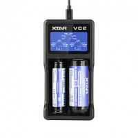 Профессиональное Зарядное Устройство Xtar Vc2 Для 2-Х Аккумуляторов На 2 Секции