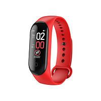 Фитнес-Браслет M4 Plus Красный Fitness Bracelet