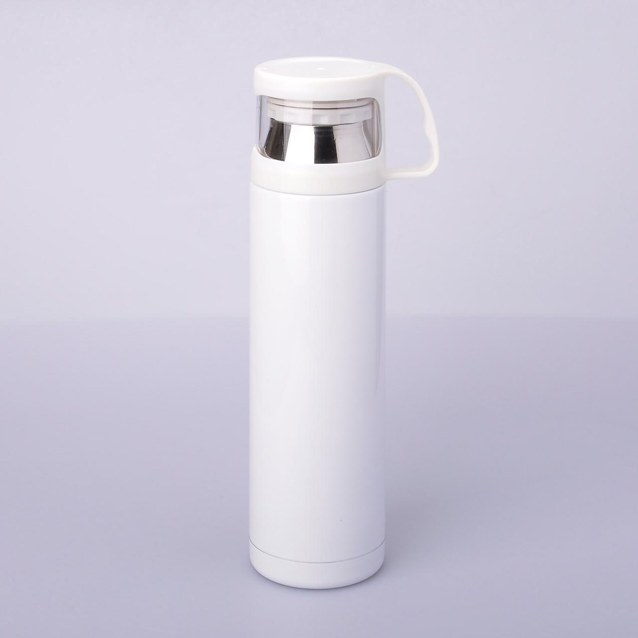 Термос для сублимации с чашечкой, 500 мл