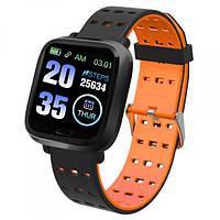 Фитнес Браслет Smart Bracelet A6 Orange