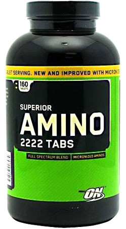 Амінокислоти Optimum Nutrition Superior Amino 2222
