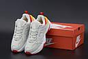 Кросівки жіночі Nike M2K white RеD Cream Orange, фото 2