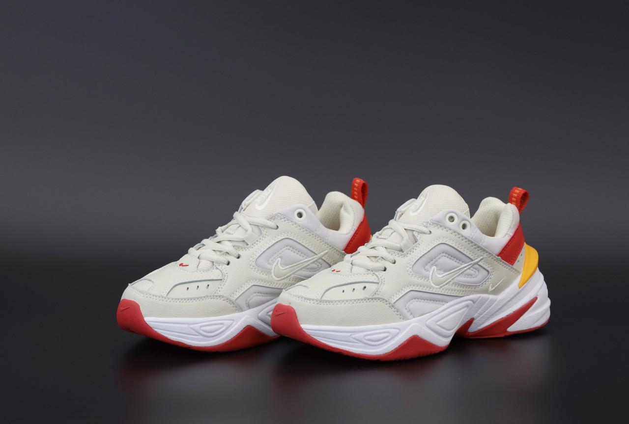 Кросівки жіночі Nike M2K white RеD Cream Orange