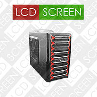 Корпус компьютерный Logicpower 9905, Материал - SECC. Толщина металла - 0.8mm. Форм-фактор ATX/MicroATX.