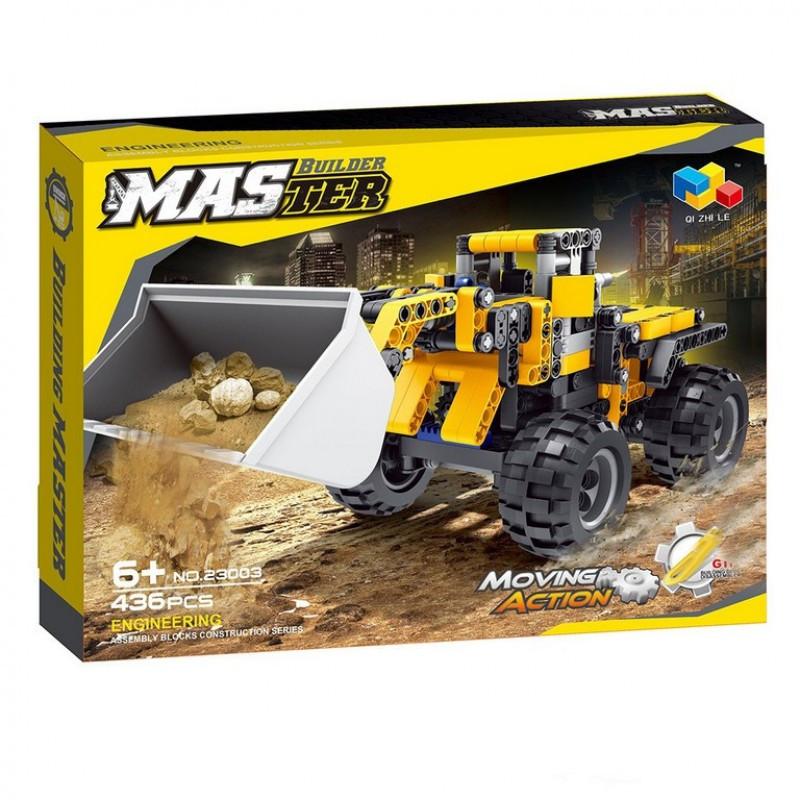 Конструктор Экскаватор Master Builder 23003 436 Деталей