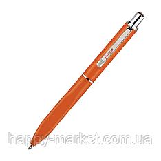 """Ручка шариковая """"Fun pastel"""" 7603 металлическая поворотная оранжевый"""