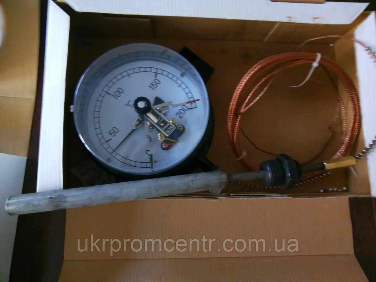 Термометр манометричний сигналізує ТМП-160С
