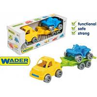 Набор авто Kid cars Sport 3 эл. (Пикап + квадроцикл) в кор.26 * 9 * 8 см ТМ Wader