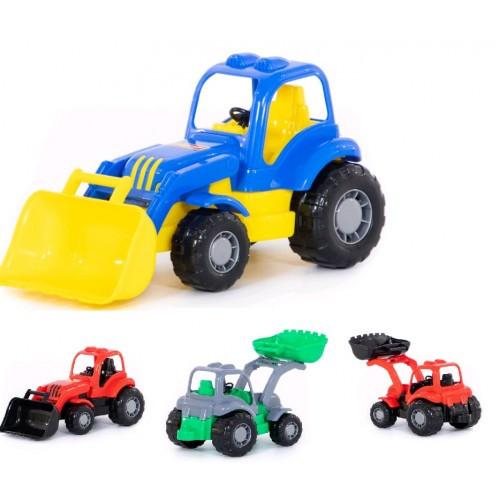 Трактор-погрузчик Здоровяк трактор-погрузчик 28х13х14см ТМ POLESIE