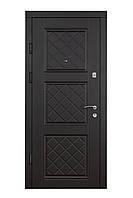 Двери входные металлические Булат Эконом 850*2050/950*2050 215 Венге темный/ Сосна прованс
