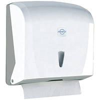 Диспенсер для бумажных полотенец на 300 листов (белый)