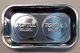Поддон магнитный прямоугольный TOPTUL 240x140x42 мм JJAF2414