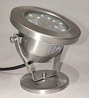 Подводный светильник 6W зеленый IP68 светодиодный Premium  Ecolend, фото 1