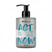 Зволожуючий шампунь для волосся Indola Act Now Moisture Shampoo, 300 мл