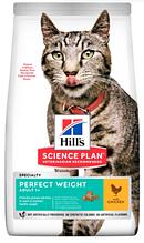 Корм Hills (Хілс) SP Feline Adult Light для дорослих кішок схильних до повноти з куркою, 1,5 кг