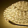 """Наружная Герметичная LED гирлянда Дюралайт """"Duralight"""" 100 метров Теплый белый, 1800 Ламп прозрачный силикон, фото 2"""