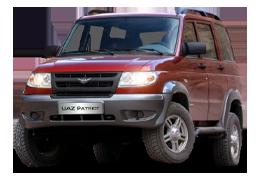 Козырьки на заднее стекло для УАЗ (UAZ) Patriot 2005+