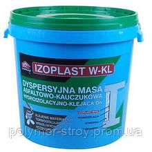 Izoplast W-KL - битумно-каучуковая мастика на водной основе