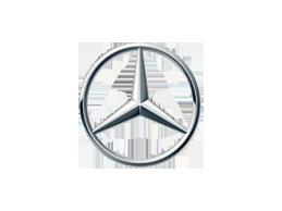 Накладки на задний бампер для Mercedes (Мерседес)
