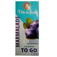 "Мармелад ""Patte de Fruits"" чорниця, 120 грам"