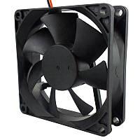 Вентилятор 80x80x25  12V 0,2А 3pin с функцией FG