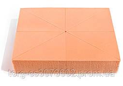 Спонж для макияжа Parisa, C-23 (8 шт, треугольник)