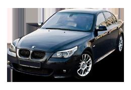 Накладки на задний бампер для BMW (БМВ) 5 E60 2003-2010