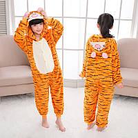 Кигуруми для детей Тигра, кигуруми пижама детская Тигра
