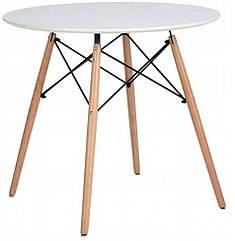 Столик Скандинавский Milano стол 80x80x75 см белый