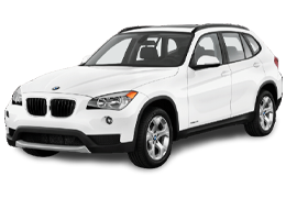 Накладки на задний бампер для BMW (БМВ) X1 E84 2009-2015