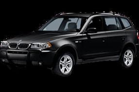 Накладки на задний бампер для BMW (БМВ) X3 E83 2003-2010