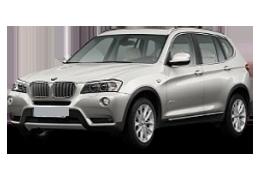 Накладки на задний бампер для BMW (БМВ) X3 F25 2010-2017