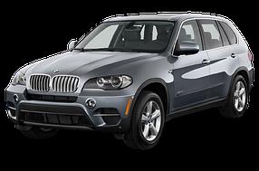 Накладки на задний бампер для BMW (БМВ) X5 E70 2007-2013
