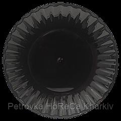 Тарілка (чорна) стеклоподобная 205 мм ,уп./10шт