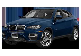 Накладки на задний бампер для BMW (БМВ) X6 E71/E72 2008-2014