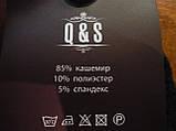 """Кашемір. Шкарпетки махрові жіночі """"Q&S"""". р. 36-41. Асорті, фото 3"""