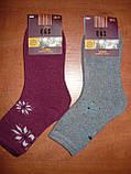 """Кашемір. Шкарпетки махрові жіночі """"Q&S"""". р. 36-41. Асорті, фото 6"""