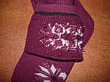 """Кашемір. Шкарпетки махрові жіночі """"Q&S"""". р. 36-41. Асорті, фото 5"""