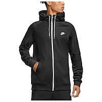 Худи мужское Nike флисовое с капюшоном черное M NSW MODERN HOODIE FZ FLC L