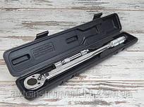 Ключ динамометрический CRV, 1/2'' 28-210Hm (c переходником 1/2''*3/8'' и удлинителем 125мм) Miol 58-322