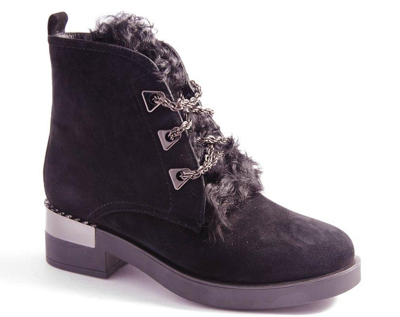 Ботинки женские черные Vlad XL 1820 5R-19