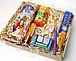 """Новогодний бокс """"Новогодний вечер"""": вечный календарь, чай, хлопушка, серпантин, бенгальские огни,чесалка, фото 10"""