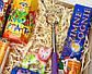 """Новогодний бокс """"Новогодний вечер"""": вечный календарь, чай, хлопушка, серпантин, бенгальские огни,чесалка, фото 5"""