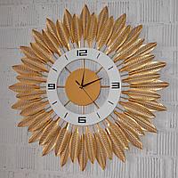 """Настінний годинник """"Golden arrow"""" метал (70 см.), фото 1"""